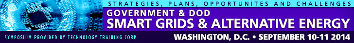 Government & DoD Smart Grids &  Alternative Energy Symposium @ Holiday Inn Rosslyn at Keybridge | Arlington | Virginia | United States