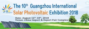 Guangzhou International Solar Photovoltaic Exhibition @ Guangzhou, China