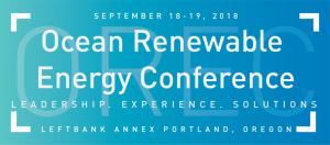 Ocean Renewable Energy Conference @ Portland | Oregon | United States