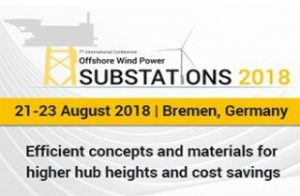 Offshore Wind Power Substations 2018 @ Bremen | Bremen | Germany