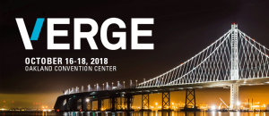 Verge 2018 @ Oakland Convention Center | Oakland | California | United States