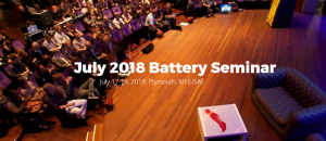 July 2018 Battery Seminar @ Plymouth, MI