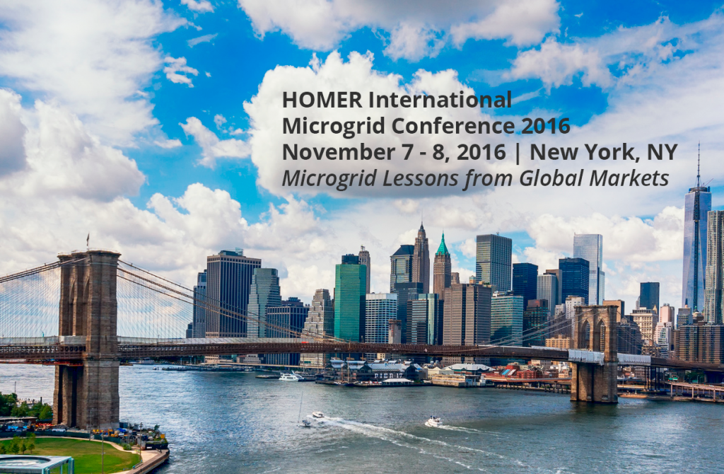 HOMER Energy 4th International Microgrid Conference @ Columbia University | New York | New York | United States